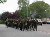 Indmarchen på Bov Skole igen 19/5-02 (efter ekstra 12 km)