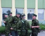 General Ulf Scheiby på besøg