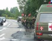 Eskorte gennem Rendsburg