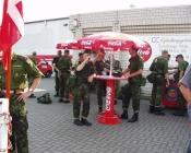 Vandrasten hos Coca Cola i Haselüne