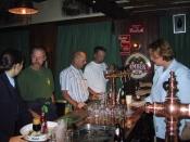 Prøvesmagning på bryggeriet Grolsch
