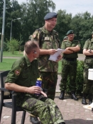 Briefing i Eefde